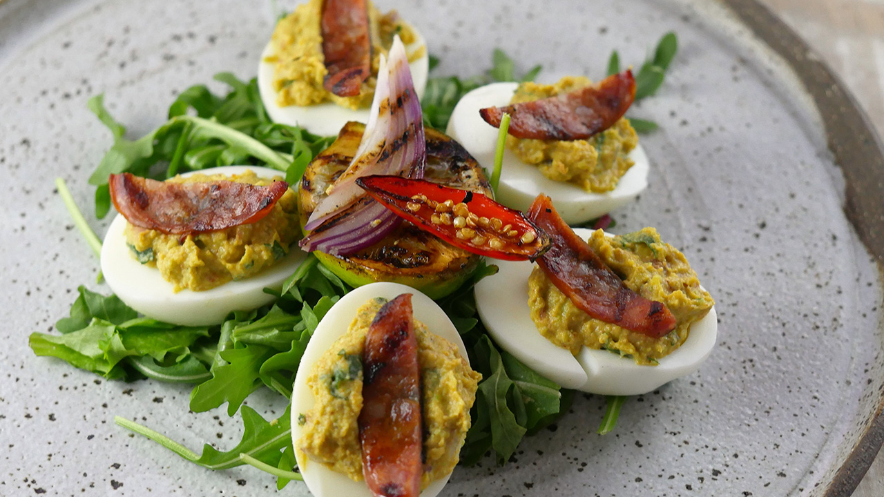 how to make mexican deviled eggs